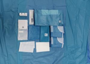 China Healthcare Surgical Procedure Packs , Knee Arthroscopy Disposable Patient Drapes on sale
