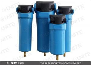 China Energy Save Compressor air filter with Aluminium die casting cap on sale