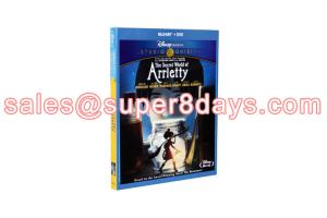 China The Secret World of Arrietty DVD Disney Cartoon Movies Blu-Ray DVD Wholesale Supplier on sale