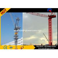 Span 50M Mini Truck Mounted Tower Crane , Luffing Jib Crawler Crane For Constructions