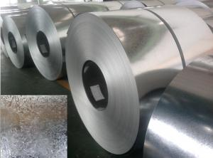 China DX51D Prime Hot Dipped Galvanized Steel Coils , galvanized metal strips EN10327 on sale