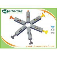 Sterile Disposable Blood Lancet Needle , Blood Glucose Lancets Auto Button Type