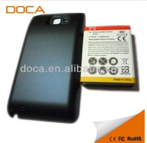 China For Samsung Galaxy Note LTE i717 Extended Battery with Battery Door Cover 5200mAh on sale