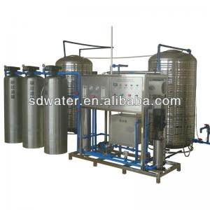 China RO-1000J(2000L/H) RO Borehole Water Treatment Plant on sale