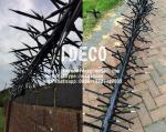 Anti-Climb Fence Spikes, Rotatable Spikes, Rotary Security Razor Spikes, Rotating Wall Toppings Spikes