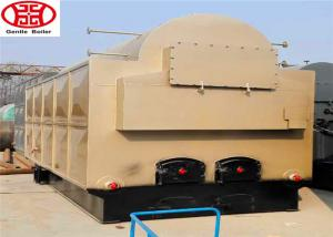 China 1- 6 Ton Horizontal Industrial Steam Boilers For Wood Chips Biomass Fired on sale