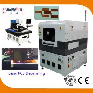 China High Accuracy FPC / Rigid - Flex PCB Laser Depaneling Machine 10W / 12W on sale