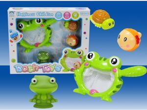 China Cute Design Baby Bath Toys/ Plastic Bath Toys /Water Games/Animal Bath Toys/Frog Bath Toys on sale