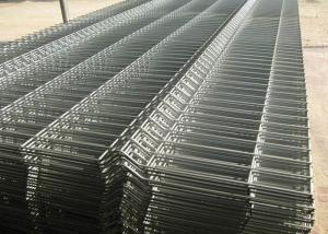 China Electric Galvanized Welded Wire Fence Solid Solder Joint Excellent Stability on sale