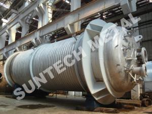 China 316L Main body & 304  Half Pipe Industrial Reactor  for PO Plant on sale