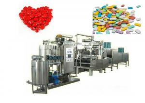 China Custom Gumball Candy Manufacturing Machine With LED Touch Panel  CE Certificate on sale