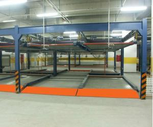 QDMY P2 Fully Automated Mechnical Puzzle Parking System For Basement Lot