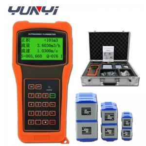 China Hand Held Ultrasonic water Flow meter sensor on sale