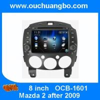 Ouchuangbo In Dash DVD Radio for Mazda 2 GPS Navigation Multimedia iPod Stereo Kuwait map