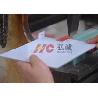 PC Machined Insulation Parts / Transparent Polycarbonate Sheet Further Process Technology