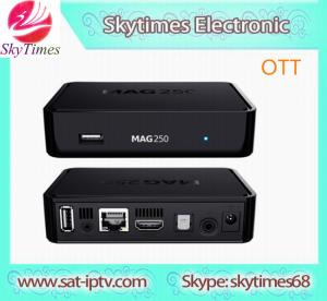 China mag 254 IPTV set top box mag250 iptv streaming server IN STOCK mag 250 iptv set top box ma wholesale