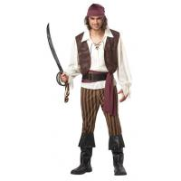 China Halloween Police Party Adult Costumes California Costumes Men's Rogue Pirate Costume on sale