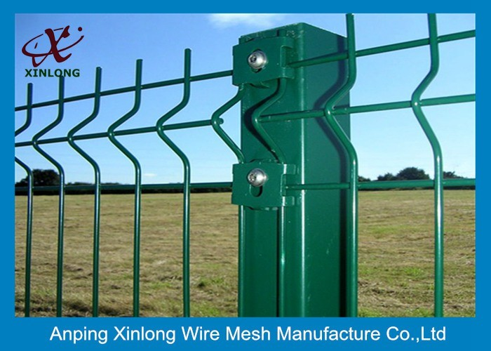 Hot dipped galvanized 3D bending welded wire mesh fence with cheap ...
