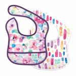 Washable Comfortable Baby Apron Bib For Infant Stain And Odor Resistant