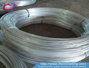 China 0.7-4.0mm galvanized iron wire/galvanzied iron wire rod/electric galvanized iron wire on sale