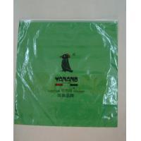 custom green color plastic polypropylene zipper bags packing sizes design maker