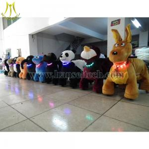China Hansel 2016 wholesale Factory Battery Powered Adult Ride At Mall 12v Elecric Animal Rides on sale