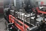 High Output Pvc Pelletizing Machine Pp Carbon Masterbatch Making Color Granules