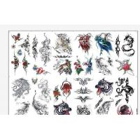 China 8.5 X 11 Temporary Tattoo Decal Paper Water Transfer Type For Body OEM on sale