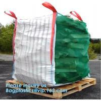 China bulk jumbo bag polypropylene woven big bag for sand cement coal minerals/1ton 1.5 ton 2 ton,jumbo big bag 1000kg FIBC su on sale