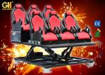 8D Kino Cabine Cine 7D Cinema Theater / Luxury Chair Trailer Movie Simulator