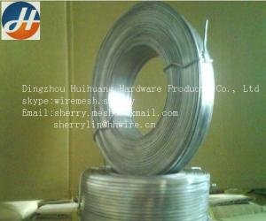 China Galvanized flat stitching wire on sale