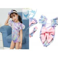 China Baby Girl One Piece Swimsuit Bathing Suit Lovely Summer Beach Beachwear on sale
