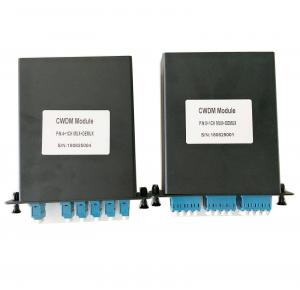 China LGX BOX CWDM DWDM 6 8 16 Channels Multiplexer and Demultiplexer on sale