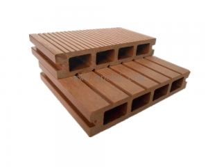 China 140*25mm WPC Hollow decking(HJ140H252) on sale