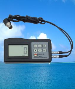 China 0.059 Inch - 9 Inch Ultrasonic Thickness Meter With Low Battery Indicator on sale