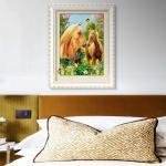Horse 3D Lenticular Picture For Advertisement Poster Frame Or Frameless