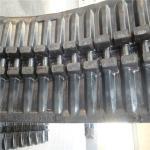 Fabricación profesional de la pista de goma del descargador de alta calidad (650*110*88)