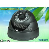 Sony / Sharp CCD Color CCD LED Vandal Proof Dome Camera With 20M IR Working Distance