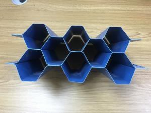 China Hexagonal Honeycomb Plate Cooldeck Mbbr Media Tube Precipitation Treatment Medium on sale