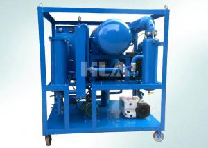 Quality High Voltage Electric Transformer Oil Purifier Machine Horizontal On Line Work for sale