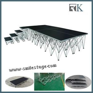China Aluminum Portable Stage with Waterproof Movable Stage Platform on sale