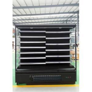 Remote Cooling Vegetables Open Display Fridge With Plug - In Embraco Compressor