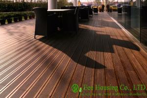 China Eco-friendly Outdoor Bamboo Flooring used for outdoor area, 1860x140x20mm on sale