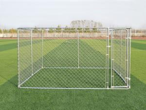 China 4x2.3x1.82M Thick Hot Galvanized Fence Big Dog Kennel/Metal Run/Pet house/Outdoor Exercise Cage on sale