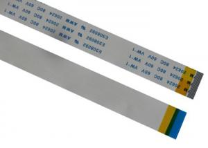 China 60V Voltage Flat Ribbon Cable Color Customized , 6 Pin Ribbon Cable PVC Insulation on sale