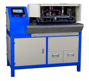 China Electric Copper Wire Stripper Wire Tinning Machine / Cable Soldering Cutting Machine on sale