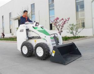 China EPA Engine Wheel Skid Steer Loader , Side Loading Forklift Truck Narrow Aisle Lift Trucks on sale