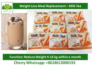 Quality Slimming Milk Tea Natural Meal Replacement Shakes Healthy Protein Shakes For Weight Loss for sale