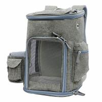 China Lightweight Airline Approved Pet Carrier Bag With Locking Clasps & Fleece Padding on sale