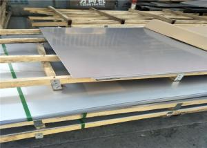 China 12 Gauge Mirror Flat Steel Plate , Stainless Steel Panels ASTM A312 321 Excellent Weldability on sale